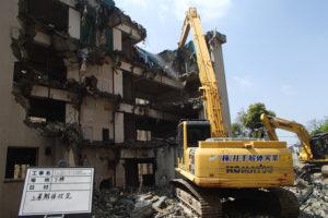 九州医療センター宿舎解体整備工事